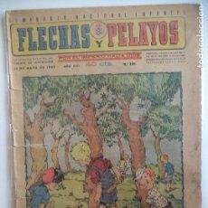 Tebeos: FLECHAS Y PELAYOS Nº 336 DEL13 DE MAYO DE 1945. Lote 115210463