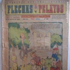 Tebeos: FLECHAS Y PELAYOS Nº 337 20 DE MAYO DE 1945. Lote 115211979