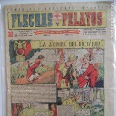 Tebeos: FLECHAS Y PELAYOS Nº 222 DEL7 DE MARZO DE 1943. Lote 115213095