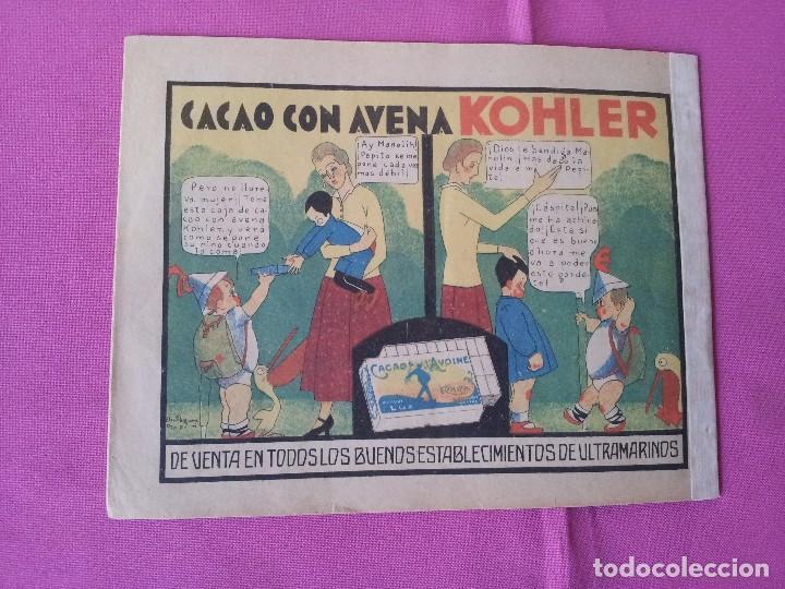 Tebeos: MANOLIN - REVISTA INFANTIL QUINCENAL - AÑO 1 NÚM 6 - 1 MAYO 1928 - Foto 2 - 115611867