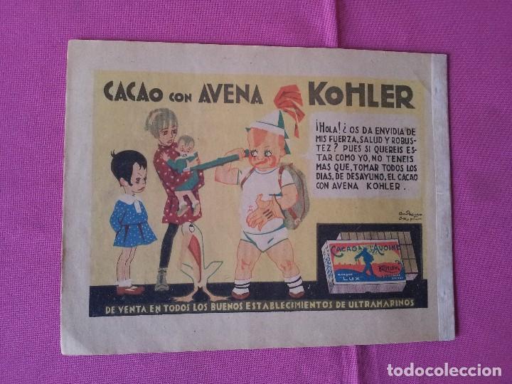 Tebeos: MANOLIN - REVISTA INFANTIL QUINCENAL - AÑO 1 NÚM 8 - 1 JUNIO 1928 - Foto 2 - 115611955