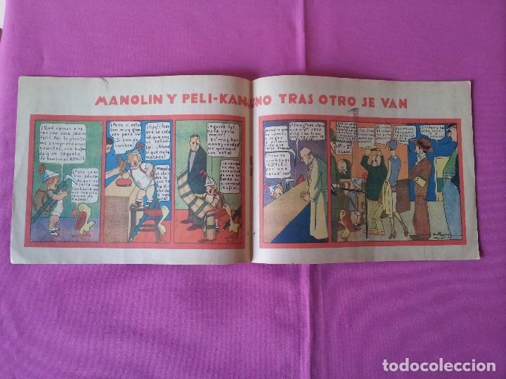 Tebeos: MANOLIN - REVISTA INFANTIL QUINCENAL - AÑO 1 NÚM 8 - 1 JUNIO 1928 - Foto 3 - 115611955