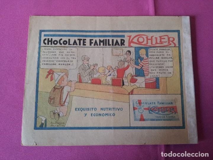 Tebeos: MANOLIN - REVISTA INFANTIL QUINCENAL - AÑO 2 NÚM 24 - 1 FEBRERO 1929 - Foto 2 - 115612883