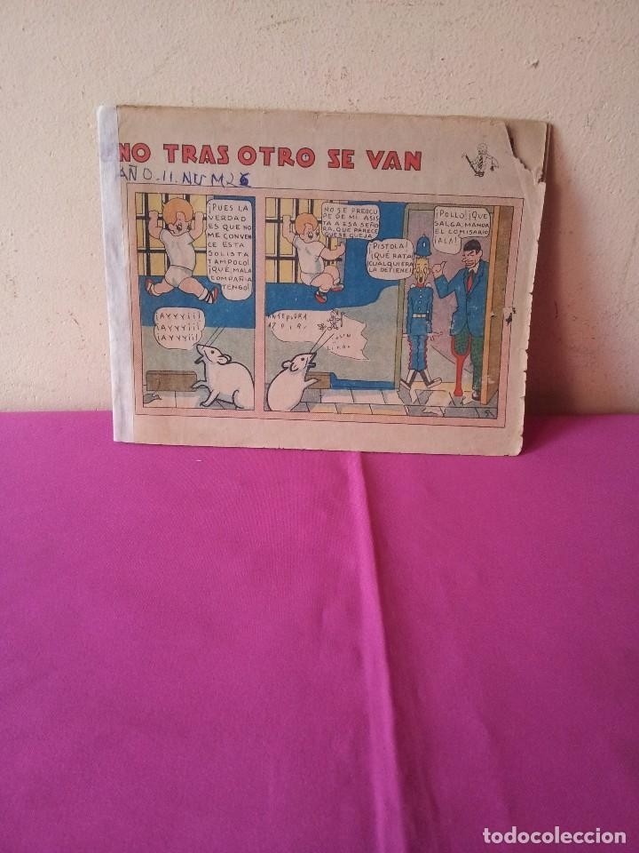 MANOLIN - REVISTA INFANTIL QUINCENAL - AÑO 2 NÚM 26 - 1 MARZO 1929 (Tebeos y Comics - Tebeos Clásicos (Hasta 1.939))