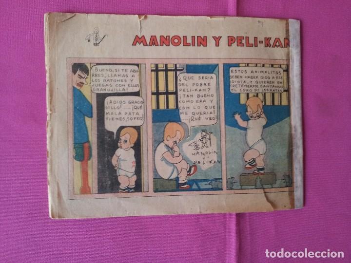 Tebeos: MANOLIN - REVISTA INFANTIL QUINCENAL - AÑO 2 NÚM 26 - 1 MARZO 1929 - Foto 2 - 115613227