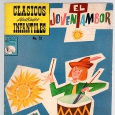 Tebeos: EL JOVEN TAMBOR. CLASICOS ILUSTRADOS INFANTILES. EDITORA DE PERIODICOS LA PRENSA. Nº 72, AÑO 1961. Lote 115680011