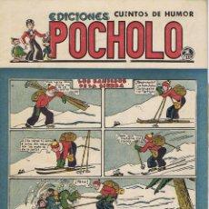 Tebeos: LOS BANDIDOS DE LA SIERRA. POCHOLO. Lote 116111219