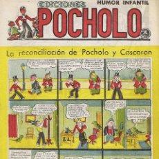 Tebeos: LA RECONCILIACION DE POCHOLO Y CASCARON. Lote 116111391