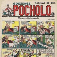 Tebeos: POCHOLO. UNA ASCENSION INESPERADA. Lote 116111771