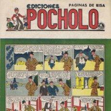 Tebeos: POCHOLO. UN ESPAÑOL EN PARIS. Lote 116112159