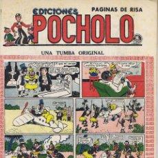 Tebeos: POCHOLO. UNA TUMBA ORIGINAL. Lote 116112587