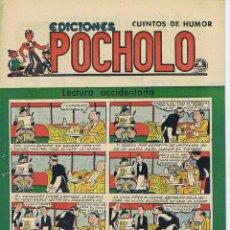 Tebeos: POCHOLO. LECTURA ACCIDENTADA. Lote 116112655
