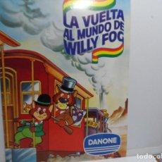Tebeos: LA VUELTA AL MUNDO DE WILLY FOG - ALBUM DE CROMOS- AÑOS 80 . Lote 116123307