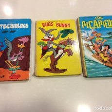 Tebeos: LOS PICAPIEDRA (1965), BUGS BUNNY (1969) Y CORRECAMINOS (1972) ED. LAIDA. Lote 114458163