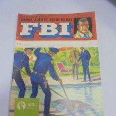 Tebeos: TEBEO. COLECCION POLICIACA. Nº 4. CABOT, AGENTE SECRETO DEL FBI. EDITORIAL SENA. Lote 118251023
