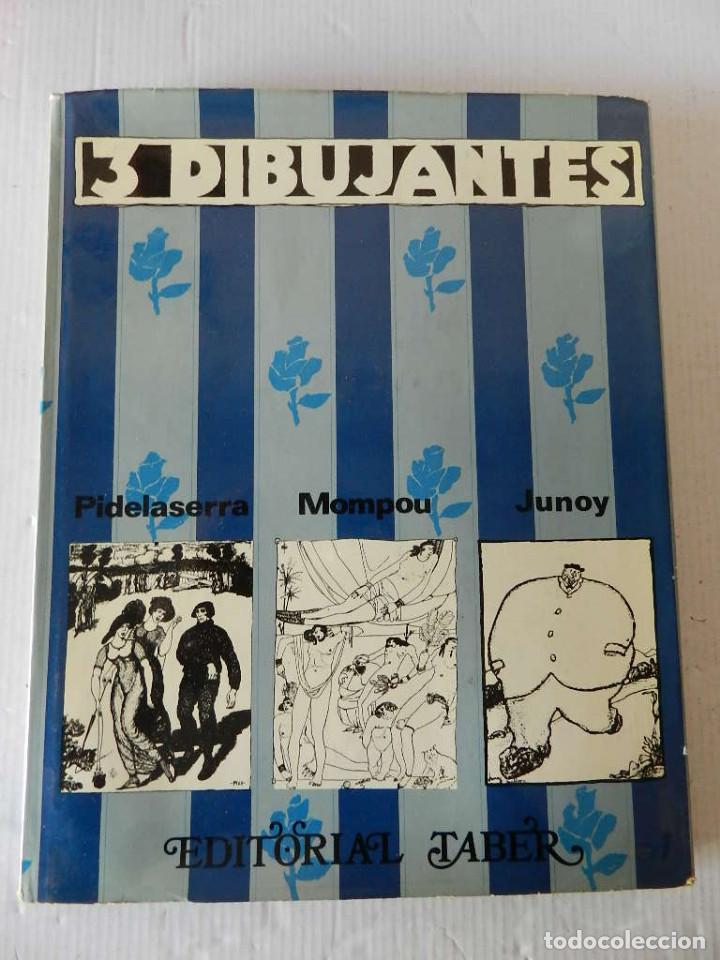 GRANDES DIBUJANTES 3 DIBUJANTES: PIDELASERRA, MOMPOU, JUNOY (Tebeos y Comics - Tebeos Clásicos (Hasta 1.939))