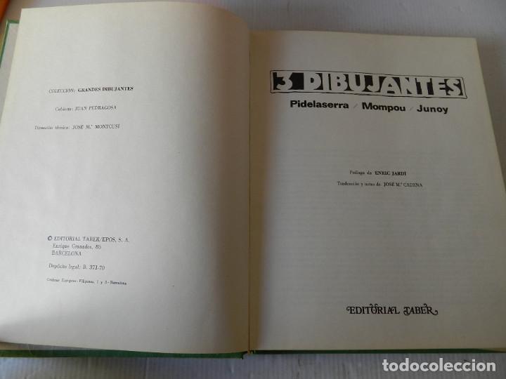 Tebeos: GRANDES DIBUJANTES 3 DIBUJANTES: PIDELASERRA, MOMPOU, JUNOY - Foto 4 - 118370903