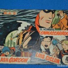 Tebeos: (M4) FLASH GORDON , EL HOMBRE ENMASCARADO , LUIS CICLON NUM 11 , PUBLICACIONES MAS. Lote 118531871