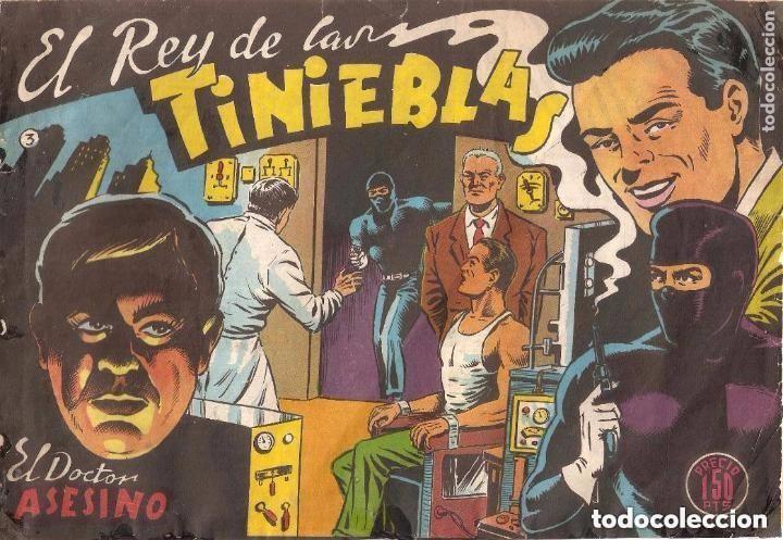 EL REY DE LAS TINIEBLAS, Nº 3. ORIGINAL. DIBUJANTE FUSSY. EDITORIAL SAMARA. AÑO 1.955. (Tebeos y Comics - Tebeos Otras Editoriales Clásicas)