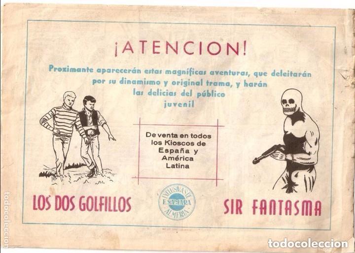 Tebeos: El Rey de las Tinieblas, Nº 3. Original. Dibujante Fussy. Editorial Samara. Año 1.955. - Foto 2 - 122733760