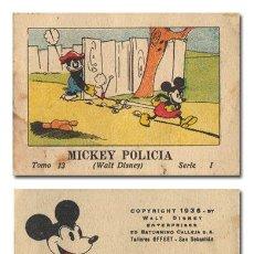 Tebeos: WALT DISNEY. MICKEY POLICÍA. JUGUETES INSTRUCTIVOS MICKEY [MOUSE]. SERIE I, TOMO 13.CALLEJA 1936. Lote 119102302