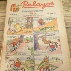 Tebeos: PELAYOS - 21 AGOSTO 1938 Nº 87 AÑO III . Lote 119228559