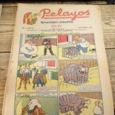 Tebeos: PELAYOS - 28 AGOSTO 1938 Nº 88 AÑO III . Lote 119228619