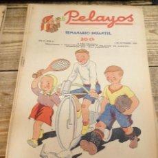Tebeos: PELAYOS - 4 SEPTIEMBRE 1938 Nº 89 AÑO III. Lote 119228767