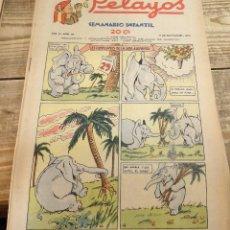 Tebeos: PELAYOS - 11 SEPTIEMBRE 1938 Nº 90 AÑO III . Lote 119228879