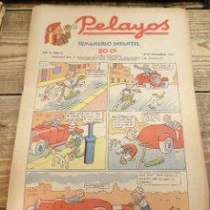 Tebeos: PELAYOS - 18 SEPTIEMBRE 1938 Nº 91 AÑO III. Lote 119229003