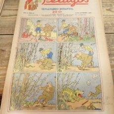 Tebeos: PELAYOS - 25 SEPTIEMBRE 1938 Nº 92 AÑO III. Lote 119250615