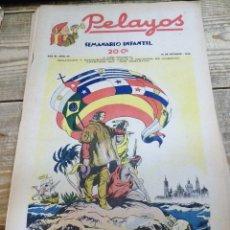 Tebeos: PELAYOS - 16 OCTUBRE 1938 Nº 95 AÑO III. Lote 119250759
