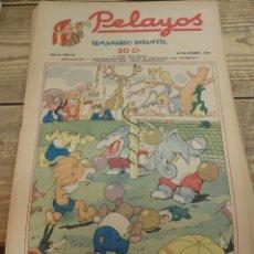 Tebeos: PELAYOS - 23 OCTUBRE 1938 Nº 96 AÑO III. Lote 119250899