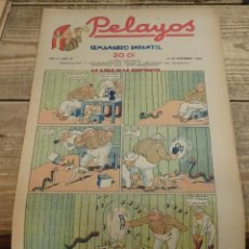 Tebeos: PELAYOS - 13 NOVIEMBRE 1938 Nº 99 AÑO III. Lote 119251195