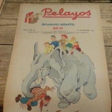 Tebeos: PELAYOS - 20 NOVIEMBRE 1938 Nº 100 AÑO III. Lote 119251315