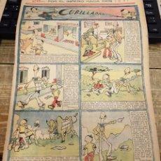 Tebeos: FLECHAS Y PELAYOS - AÑO IV, NUMERO 125, 27 DE ABRIL DE 1941. Lote 119259499