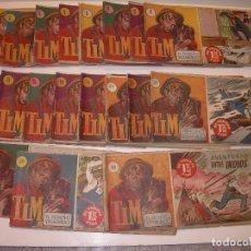 Tebeos: LOTE DE 19... TBOS-COMICS...TIM EL PEQUEÑO VAGABUNDO.. Lote 120019483