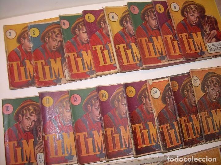 Tebeos: LOTE DE 19... TBOS-COMICS...TIM EL PEQUEÑO VAGABUNDO. - Foto 2 - 120019483