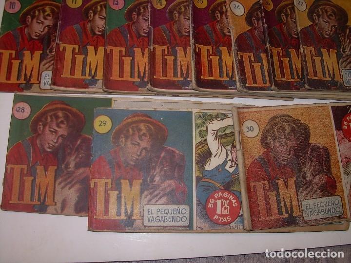 Tebeos: LOTE DE 19... TBOS-COMICS...TIM EL PEQUEÑO VAGABUNDO. - Foto 3 - 120019483