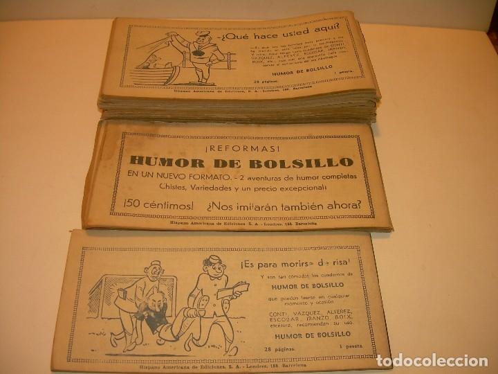 Tebeos: LOTE DE 19... TBOS-COMICS...TIM EL PEQUEÑO VAGABUNDO. - Foto 5 - 120019483