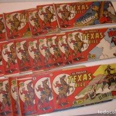 Tebeos: LOTE DE 19... TBOS-COMICS...TEXAS BILL.. Lote 120019683