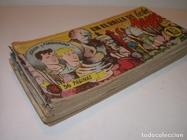 Tebeos: LOTE DE 12... TBOS-COMICS...JORGE Y FERNANDO. - Foto 2 - 120019879