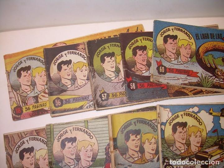 Tebeos: LOTE DE 12... TBOS-COMICS...JORGE Y FERNANDO. - Foto 4 - 120019879