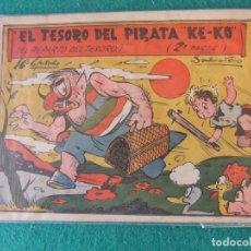 Tebeos: EL TESORO DEL PIRATA KE-KO Nº 16 EL REPARTO DEL TESORO 1º DE LA 2ª PARTE BIBLIOTECA ATALAYA. Lote 120393907