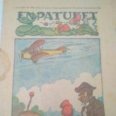 Tebeos: ENPATUFET .COMIC CATALAN ORIGINAL 1925.ANY XXII N 1109.VER FOTOS. Lote 120885880