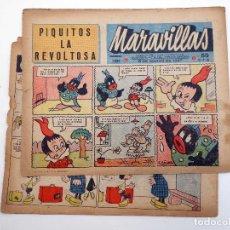 Tebeos: MARAVILLAS N.º 391. (VVAA) BIBLIOTECA DE FLECHAS Y PELAYOS, 1946. ORIGINAL. Lote 120931352