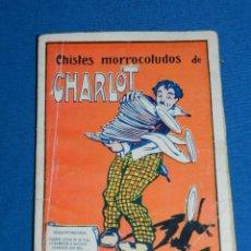 Tebeos: (M0) CHISTES MORROCOTUDOS DE CHARLOT , EDT EL GATO NEGRO BARCELONA , 66 PAG. Lote 120947759