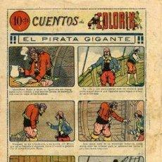 Tebeos: CUENTOS DE COLORÍN NÚMERO 4 (MAGIN PIÑOL, AÑOS 20). Lote 121067799
