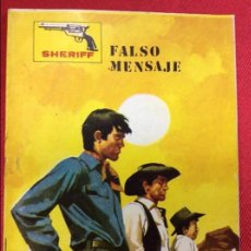 Tebeos: SHERIFF FALSO MENSAJE . Lote 121153639