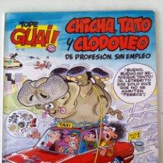 Tebeos: COMIC COLECCION TOPE GUAY CHICHA TATO Y CLODOVEO DE PROFESION SIN EMPLEO EL ARCA DE NOE. Lote 121431963